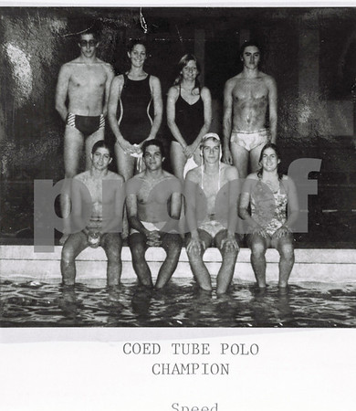 Coed Tube Polo Champs, Speed, 1979-80