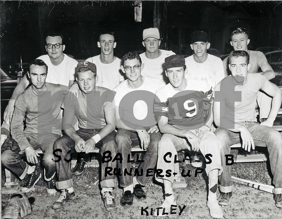 1955-1956 Softball, Class B Runners-up, Kitley House