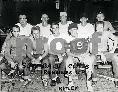 1955-1956 Softball, Class B Runners-up, Kitley House