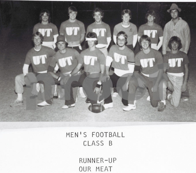 Men's Touch Football 1979-80