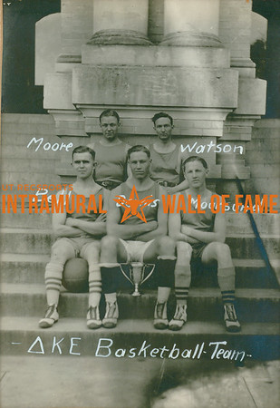 BASKETBALL   Delta Kappa Epsilon  R1: Moore, Watson R2: Bell, Dennis, Moursund