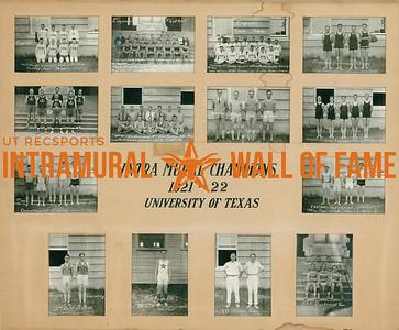 Intramural Champions 1921-22 Board
