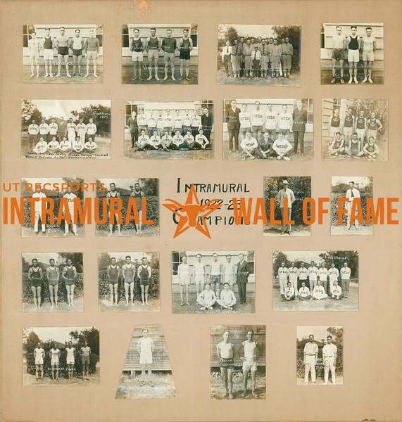 Intramural Champions 1922-23