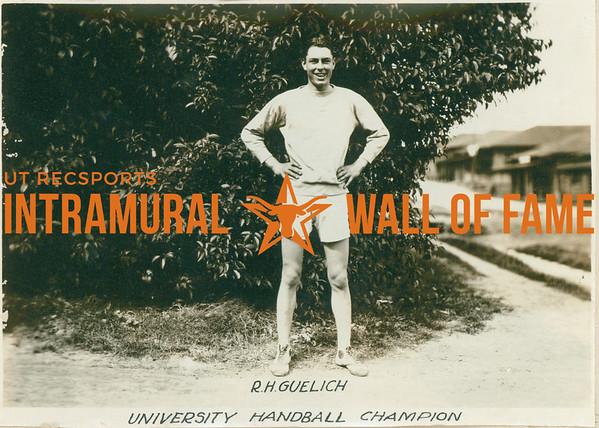 HANDBALL University Champion  R. H. Guelich
