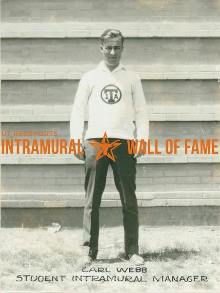 STUDENT INTRAMURAL MANAGER  Carl Webb
