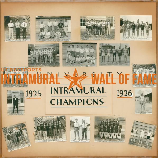 Intramural Champions 1925-26