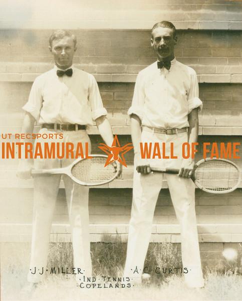 TENNIS Independent   Copelands  J. J. Miller & A. C. Curtis