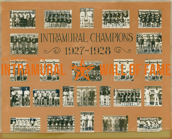 Intramural Champions 1927-28