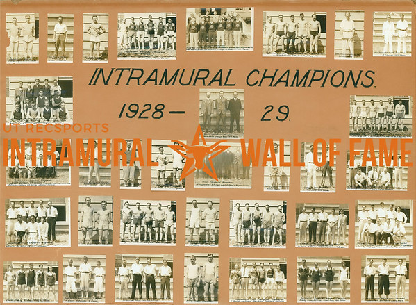 Intramural Champions 1928-29