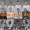 Intramural Track Champions<br /> Front Row (L to R): L. Austin, G.D. Hinson, F. Austin, J. Durham.<br /> Back Row (L to R): C. Decker, C. Delaney, L. Foxhall, R. Brinkerhoff.<br /> KA
