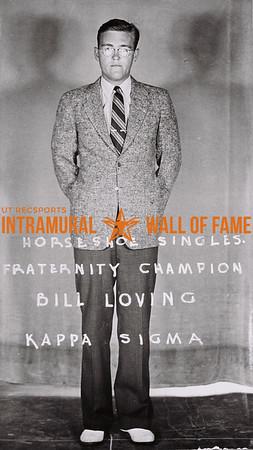 Horseshoe Singles Fraternity Champion Bill Loving Kappa Sigma