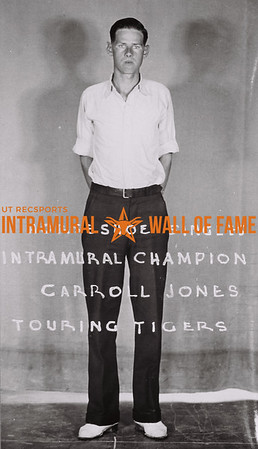 Horseshoe Singles Intramural Champion Carroll Jones Touring Tigers