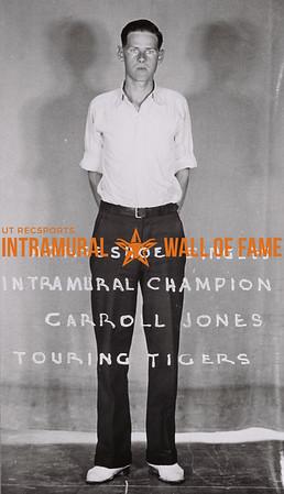 Horseshoe Singles Intramural Champion Carroll Jones Touring Tigers