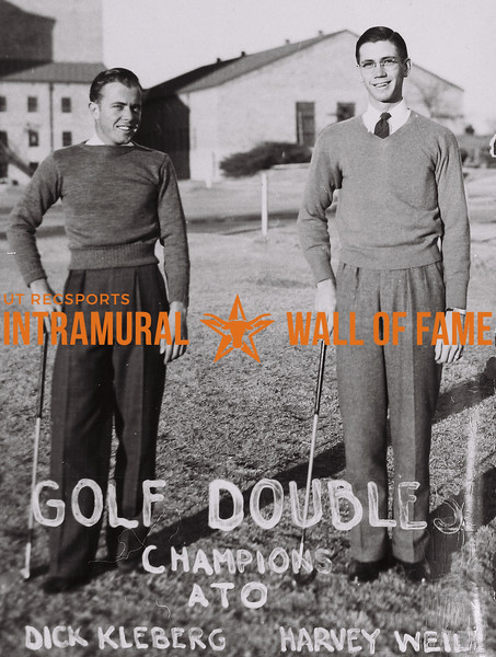 Golf Doubles 1938-39