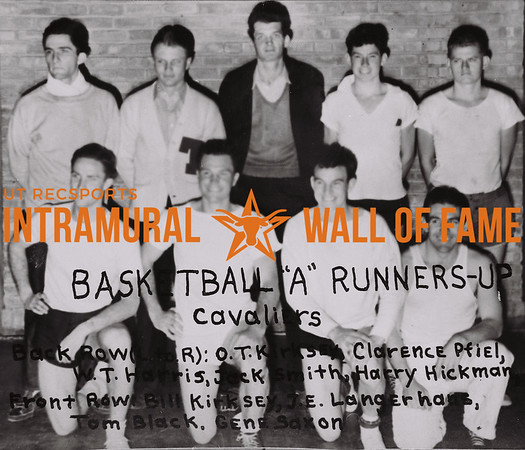 """Basketball """"A"""" Runners Up Cavaliers"""