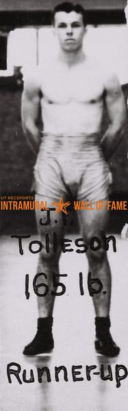 J. P. Tolleson 1938-39
