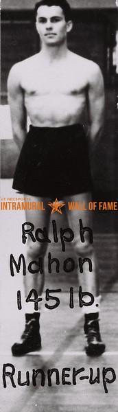 Ralph Mahon 1938-39