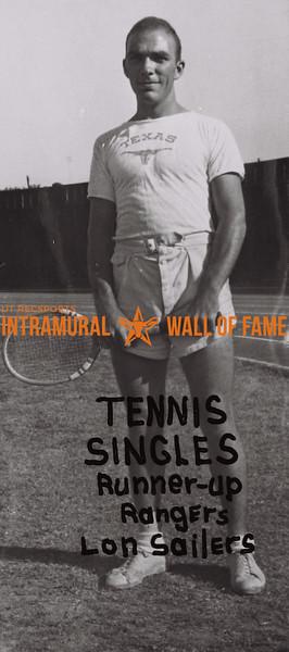 Tennis Singles 1938-39