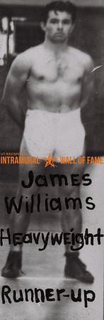 James Williams 1938-39