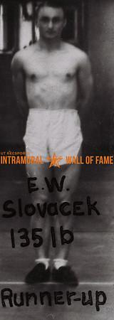 E. W. Slovack 1938-39