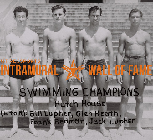 Swimming Champions Hutch House 1938-39