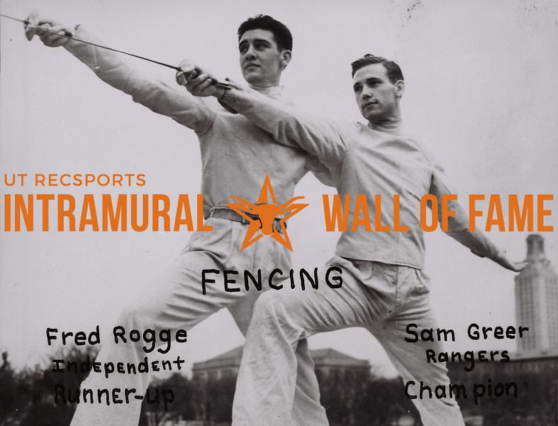 Fencing 1938-39