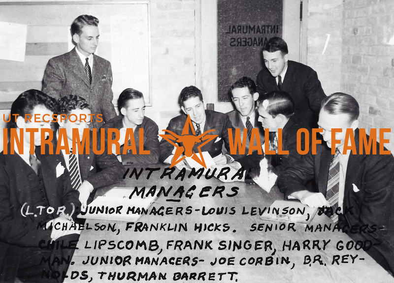 Intramural Managers 1939-40