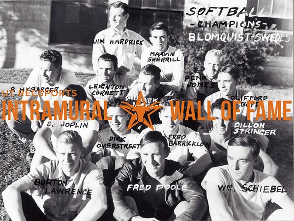 Softball Champions Blomquist Swedes 1939-40