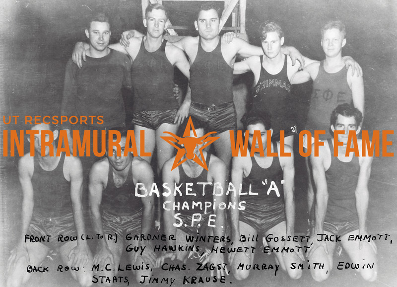 "Basketball ""A"" Champions 1939-40"
