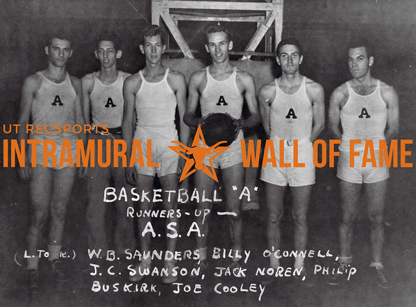 "Basketball ""A"" Runners-Up 1939-40"
