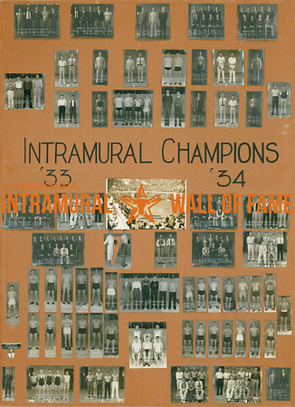 Intramural Champions 1933-34
