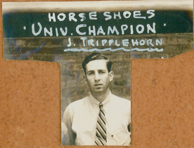 HORSESHOES University Champion  J. Tripplehorn