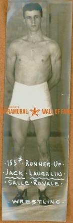 WRESTLING 155 lbs Runner-Up  Salle Royale  Jack Laughlin