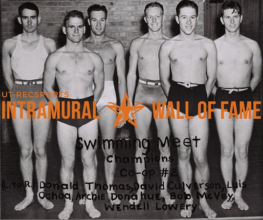 Swimming Champions 1937-38