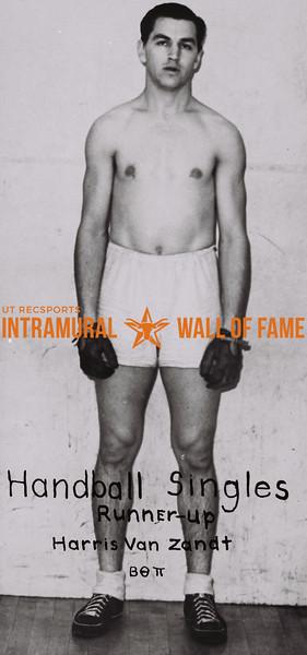 Harris Van Zandt 1937-38