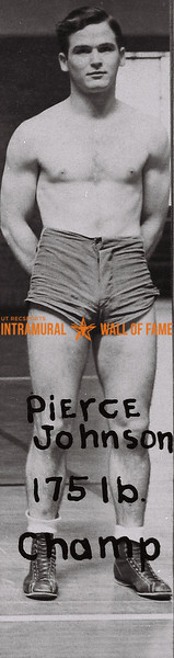 Pierce Johnson 1937-38