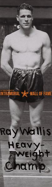 Ray Wallis 1937-38