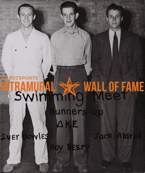 Swimming  1937-38