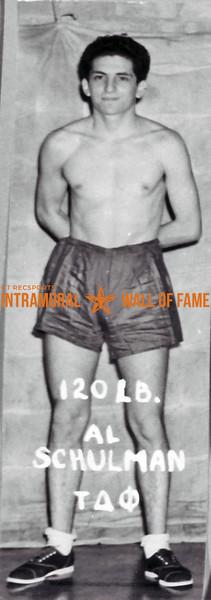 Boxing, Runner Up 120 lb. Class Al Schulman, Tau Delta Phi