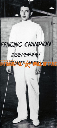 Fencing Champion Stuart Moore, Independent