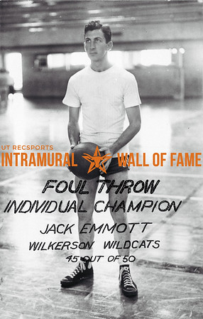 Foul Throw, Individual Champion Jack Emmott, Wilkerson Wildcats 45 out of 50