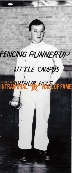 Fencing, Runner Up Arthur Holt, Little Campus