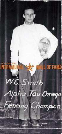 Fencing, Champion Alpha Tau Omega W.C. Smith