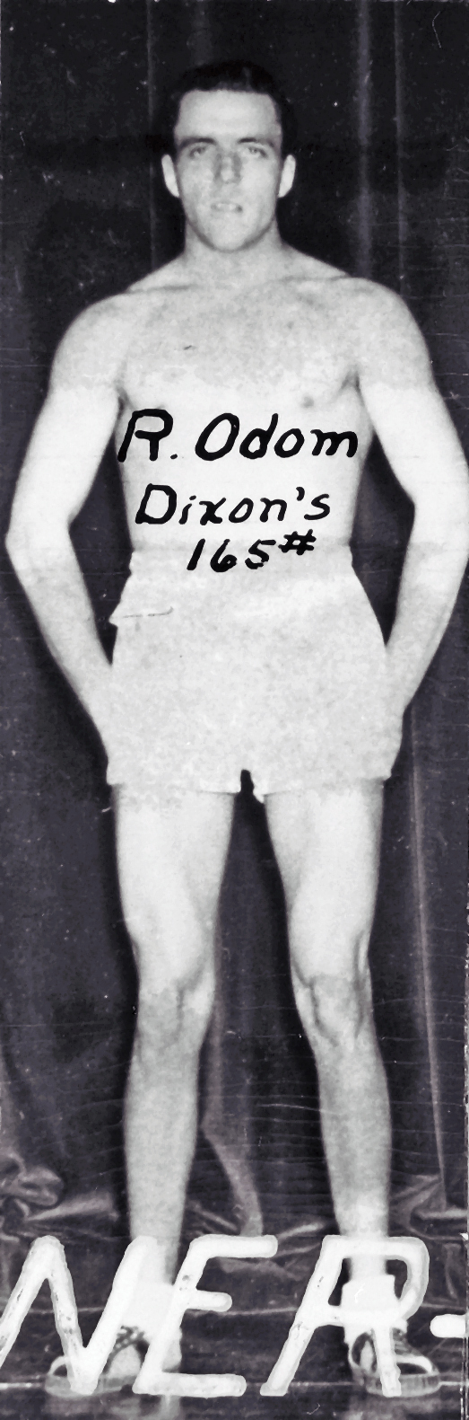 Boxing, Runner Up, 165 lb. Class Dixon's R. Odom