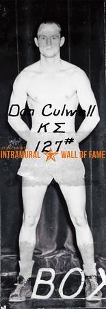 Boxing, Champion 127 lb. Class, Kappa Sigma Don Culwell,