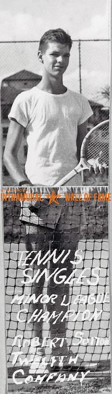 Tennis, Singles, Minor League Champion, Twelfth Company Robert Sutton