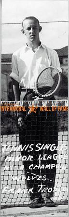 Tennis, Singles, Minor League MICA Champion, Wolves Frank Troseth