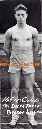 Boxing, Champion 165 lb. Class Phi Delta Theta George Lemmon