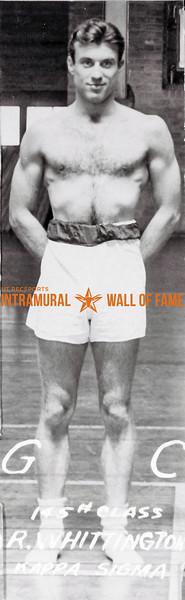 Boxing, Champion 145 lb. Class Kappa Sigma R. Whittington
