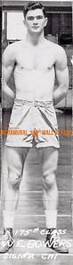Boxing, Runner Up 175 lb. Class Sigma Chi W.E. Bowers